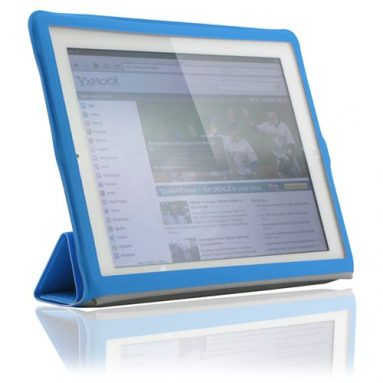 Light Blue Magnetic Cover iPad 3