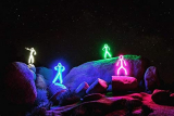 Glowy Zoey Official RGB Color Changing LED Stickman Stick Figure Kit