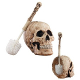7 skulls for halloween party decoration