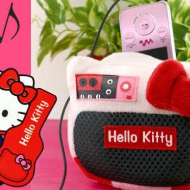 Hello Kitty Speaker Plush Doll