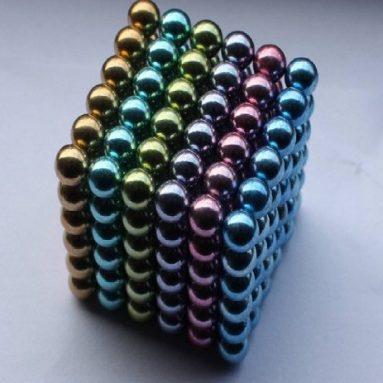 Magnet Balls Extreme Rainbow Edition