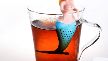 Funny Slicone Tea Infusers Mermaid Loose Leaf Tea