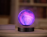 Levitating Moon Lamp Floating and Spinning in Air Freely