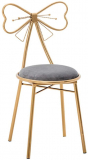 Stool Chair with Bow Knot Back
