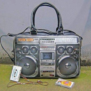 Ghetto Blaster Bag: not functional Blaster