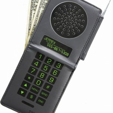 Toddland retro cellphone wallet