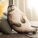 Cuddly Blob Seal Plush Pillow Stuffed Animal