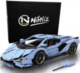 Nifeliz Racing Car SAI MOC Building Blocks and Engineering Toy