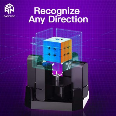 Cube Solving Machine Automatic Puzzle Scrambler & Solver