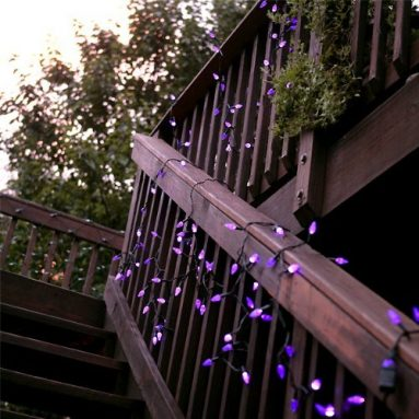 Solar Powered Holiday String Lights