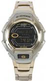 Casio Men's G-Shock Silver Dial Shock Resistant Chronograph Watch