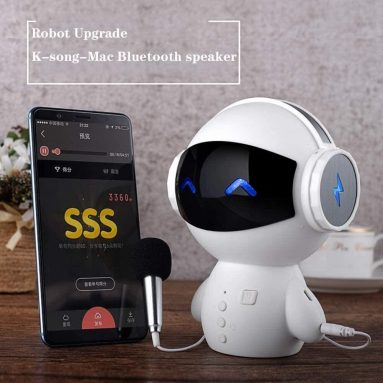 Kuku Statues BYY Smart Robot Bluetooth Speaker