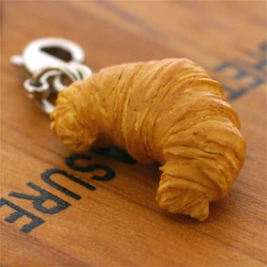 Japanese Snack Bread Cell Phone Strap