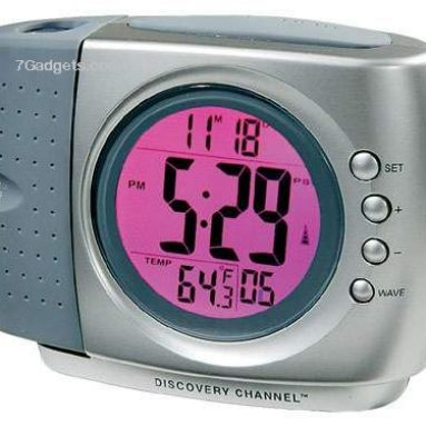 Discovery Color-Changing Projection Clock