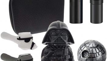 Herb Grinder Kit 7 Pack with Darth Vader Grinder