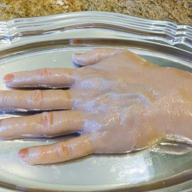 Hand Gelatin Mold