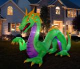 Halloween Inflatable Dragon Decoration