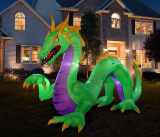 Halloween Inflatable Dragon Decoration