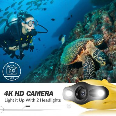 Gladius Mini Underwater Drone – 4K UHD Underwater Camera