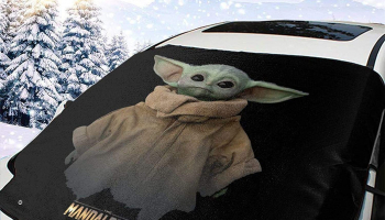 Yoda Windshield Snow Cover