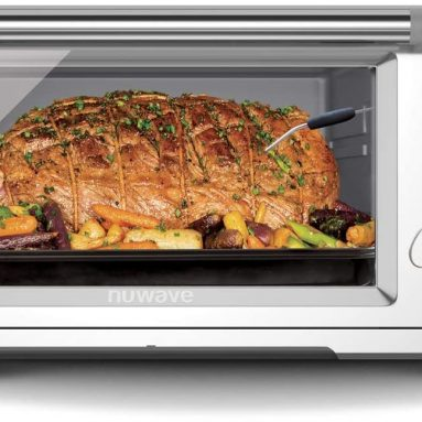 12-in-1 Air Fryer Toaster Oven 1800-Watt Large Convection Roaster with Precise Temperature Control