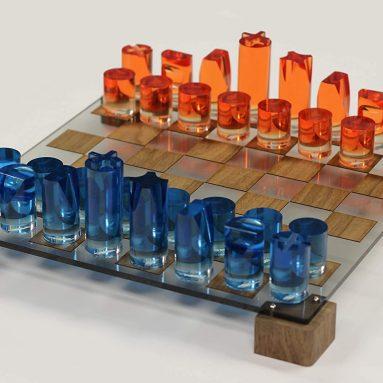Acrylic Chess Unique