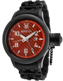 Invicta Men's Carbon Fiber Dial Black Ion-Plated Watch