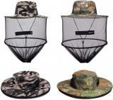 Mosquito Head Net Hat