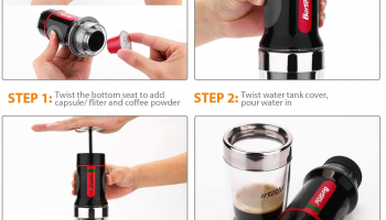 Portable Small Coffee Maker Barsetto Espresso Coffee Machine