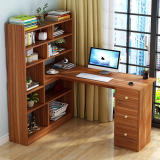 Bookshelf Modern Simple PC Laptop Study Table Stable Workstation
