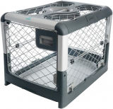 Portable Travel Dog Crate with Collapsible Kennel Walls