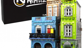 Nifeliz Street URGE Hotel MOC Building Blocks and Engineering Toy