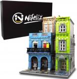 Nifeliz Street URGE Hotel MOC Building Blocks and Engineering Toy