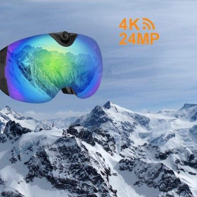 4K Camera Snowboard Goggles with WiFi Feature