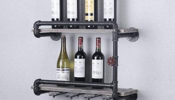 Industrial Wine Racks