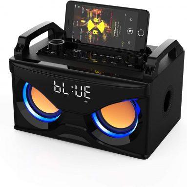 Wooden Speaker 10W Mono Sound, Bluetooth 5.0 Device