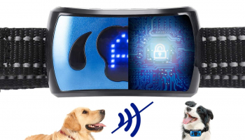 Rechargeable Bark Collar for Dogs – Professional 4 Adjustable Sensitivity Control