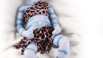 Baby Doll Realistic Reborn Silicone