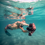Seabow Smart Underwater Scooter with Action Camera