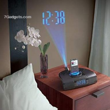 HoMedics iSoundSpa Clock & iPod Docking Station