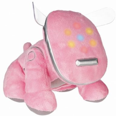 I Dog Mini Plush Speaker Pink
