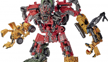 Transformers Toys Studio Series 69 Revenge of The Fallen Devastator Constructicon Action Figures