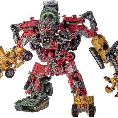 Transformers Toys Studio Series 69 Revenge of The Fallen Devastator Constructicon Action Figures