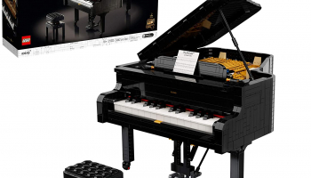 LEGO Ideas Grand Piano Model Building Kit