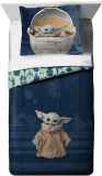 The Mandalorian 'The Child' Baby Yoda 2 Piece Twin/Full Comforter