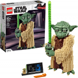 Attack of The Clones Yoda 75255 Yoda Building Model and Collectible Minifigure with Lightsaber