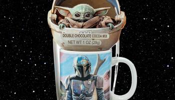 Star Wars The Child Holiday Baby Yoda Ceramic Mug