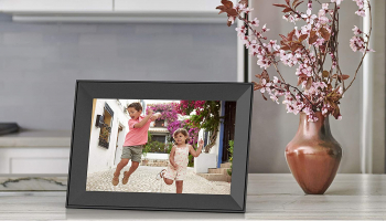 Aura Carver Smart Digital Picture Frame 10.1 Inch HD WiFi Cloud