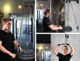 Odoland Wall Mount Forearm Wrist Roller Trainer