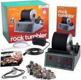 Advanced Professional Rock Tumbler Kit – with Digital 9-day Polishing timer & 3 speed settings